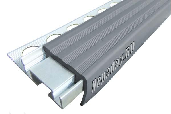 Алюминиевый профиль ALPB с одним закладным элементом