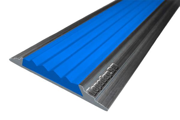 Алюминиевая накладная полоса АП46 с одним закладным элементом