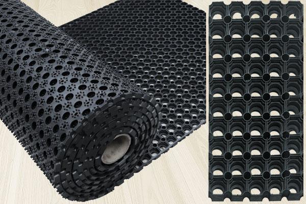 Грязесборные покрытия из резины в рулонах
