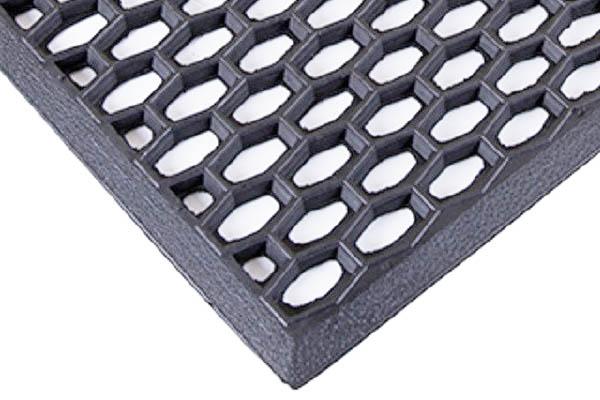 Коврик грязесборный ADM39 резиновый придверный