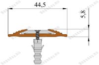 Технические размеры полосы NoSlipper