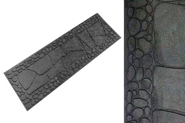 Противоскользящая накладка на ступени Камни (Галька) из резины
